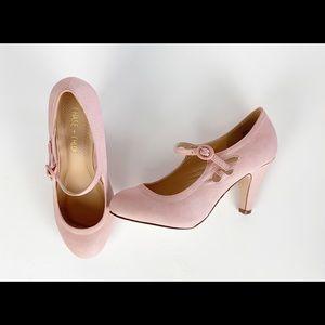 Chase + Chloe Heel 5.5 Pink Kimmy-21 Pumps Pierced